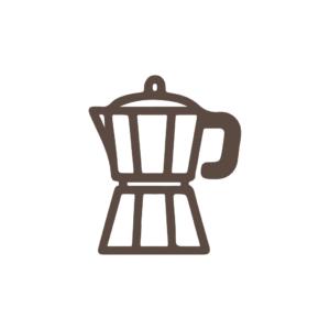 Mokka kávovary ( koťogó )
